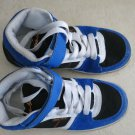 Maui and sons boy shoes SIZE 2 running walk sneaker blue black white very good