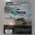 Power Pro Super 8 Slick 20 lb x 150 yds AQUA GREEN braided fishing line microfil