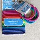 Scunci hair tie 18 pcs + BONUS 50100-P No metal parts No damage girl multi color