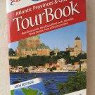 AAA TourBook Atlantic Provinces & Quebec 2008 Edition New Brunkswick New foundla