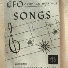 CFO Camp Farthest Out Songs by Camp & Retreat Songs An interdenominatinal book