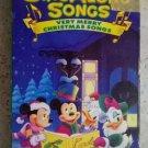 Disney's Sing Along Songs very Merry Christmas Songs Volume 8 VHS movie tape lik