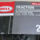 """BELL 24"""" Traction Mountain Bike Tire with Kevlar fiber 24 """" strong New 1.75 1.90"""