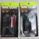 2 UNIQUE Flashing Bike light Multi Flash settings w/ adjustable clip mount BL-3