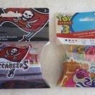 2 packs NFL logo Bandz Elastic Bracelets 20-pack Buccaneers & Toy Story 3 bracel