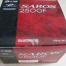 Shimano Saros 2500F Spinning Reel fishing SAR-2500F 6.0:1 gear ratio BRAND NEW