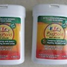 Two boxes Bugband Towelettes Insect Repelling Geraniol Lotion ( 15 ct ea. box )