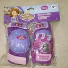 Disney Pixar Sofia the First Protective Gear Knee + Elbow pads set with gloves