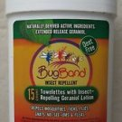 Bug Band Insect repellent 15 count towelettes with insect repelling geraniol lot