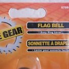Bike Gear Flag Bell American Easy Ring Lever 6708-2 bicycle outdoor handle NEW