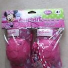 Disney Minnie Elbow & Knee Pads with gloves ages 4+ pink Girl Protective Gear
