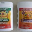 Two boxes Bugband Towelettes Insect Repelling Geraniol Lotion ( 15 ct. box ) NEW