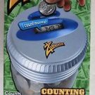 Zillionz Electronic Counting Money Jar with Balance Guard gift present counts