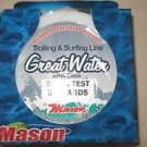 Mason Great Water Trolling & Surfing Line 50 lb x 300 yards IGFA Class braided