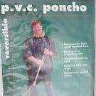 "Texsport 32750 P.V.C Poncho 80"" x 52"" authentic Adventure Gear Reversi dark blue"
