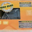 BIKE GEAR cycling helmet Black 79025 small medium 11 vents aged 5+ CPSC standard