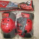 Disney Pixar CARS Protective Gear Knee + Elbow pads set with gloves boy car NEW