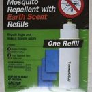 Thermacell Mosquito Repellent with earth scent Refills ONE REFILL cartridge mats