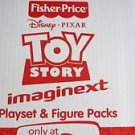 Fisher Price Toy Story Imaginext Playset & Figure Packs only at Toys R Us NEW