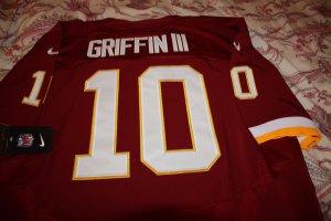 Robert Griffin III Jersey Nike RG3 Men's Size 52 (XXL) Home Redskins NFL NWT