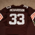 Trent Richardson Jersey Nike Men's Size 48 (XL) Home Browns NFL NWT