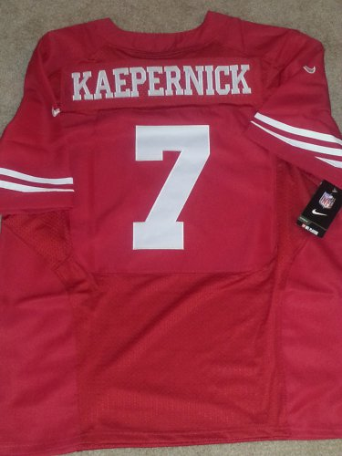 best authentic a1f54 72984 Colin Kaepernick Jersey Nike Men's Sz. 52 (XXL) Home Red ...