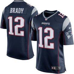 Tom Brady Jersey Nike Men's Sz.52 (XXL) Home Blue Patriots NFL NWT