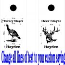 Deer Turkey Hunting Cornhole Decals Stickers B10