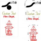 Fire Hose Fire Hydrant Cornhole Board Decals Sticker