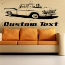 55 Chevy Truck Auto Car Vinyl Wall Art Sticker Decal
