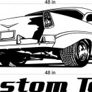 Chevy Bel Air Auto Car Vinyl Wall Art Sticker Decal