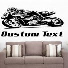 Mototcycle Racing Auto Car Vinyl Wall Art Sticker Decal