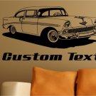 1956 Chevy Auto Car Vinyl Wall Art Sticker Decal