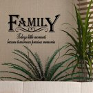 Family Love Friends Vinyl Wall Quote Decals Stickers