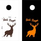SPECIAL FREE SHIPPING Cornhole Board Decals Deer Buck Hunting Stickers BO8