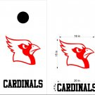 Cardinals Cornhole Board Decals Stickers Sports Teams Mascots