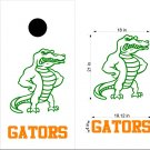 Gators Cornhole Board Decals Stickers Sports Teams Mascots