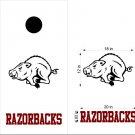 Razorbacks Cornhole Board Decals Stickers Sports Teams Mascots