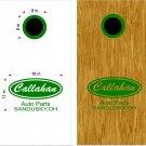 Callahan Cornhole Board Decals Stickers Graphics Wraps Bean Bag Toss Baggo