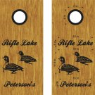 Loons Birds Cornhole Board Decals Stickers Graphics Wraps Bean Bag Toss Baggo