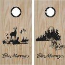 Deer Duck Hunting Cornhole Board Decals Stickers Graphics Wraps Bean Bag Toss Baggo