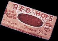 RED HOTS CANDY