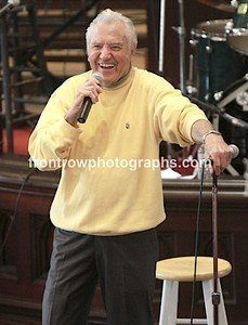 "Singer Jimmie Rodgers 8""x10"" Color Concert Photo"