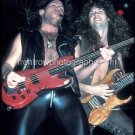 """Kip Winger and Reb Beach Color 8""""x10"""" Concert Photo"""