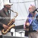 "Musicians Branford Marsalis & Bob Weir 8""x10"" Color Concert Photo"