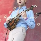 """Punch Brothers Singer Chris Chile 8""""x10"""" Color Concert Photo"""