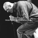 "Midnight Oil Singer Peter Garret 8""x10"" BW Concert Photo"
