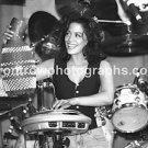 """Percussionist Sheila E 8""""x10"""" BW Concert Photo"""