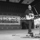 "Musician Shawn Mullins 8""x10"" BW Concert Photo"