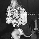 "Singer Debbie Gibson 8""x10"" BW Concert Photo"